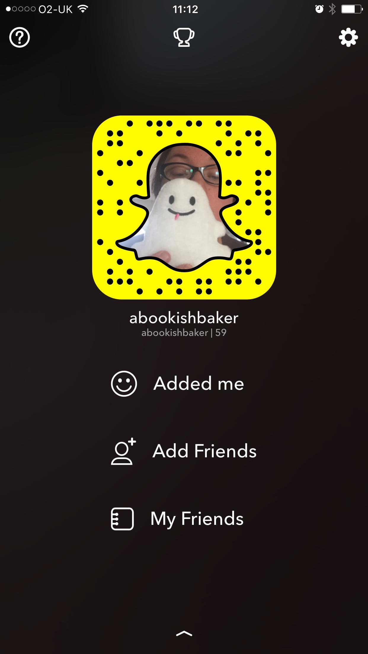 a bookishbaker snapcode