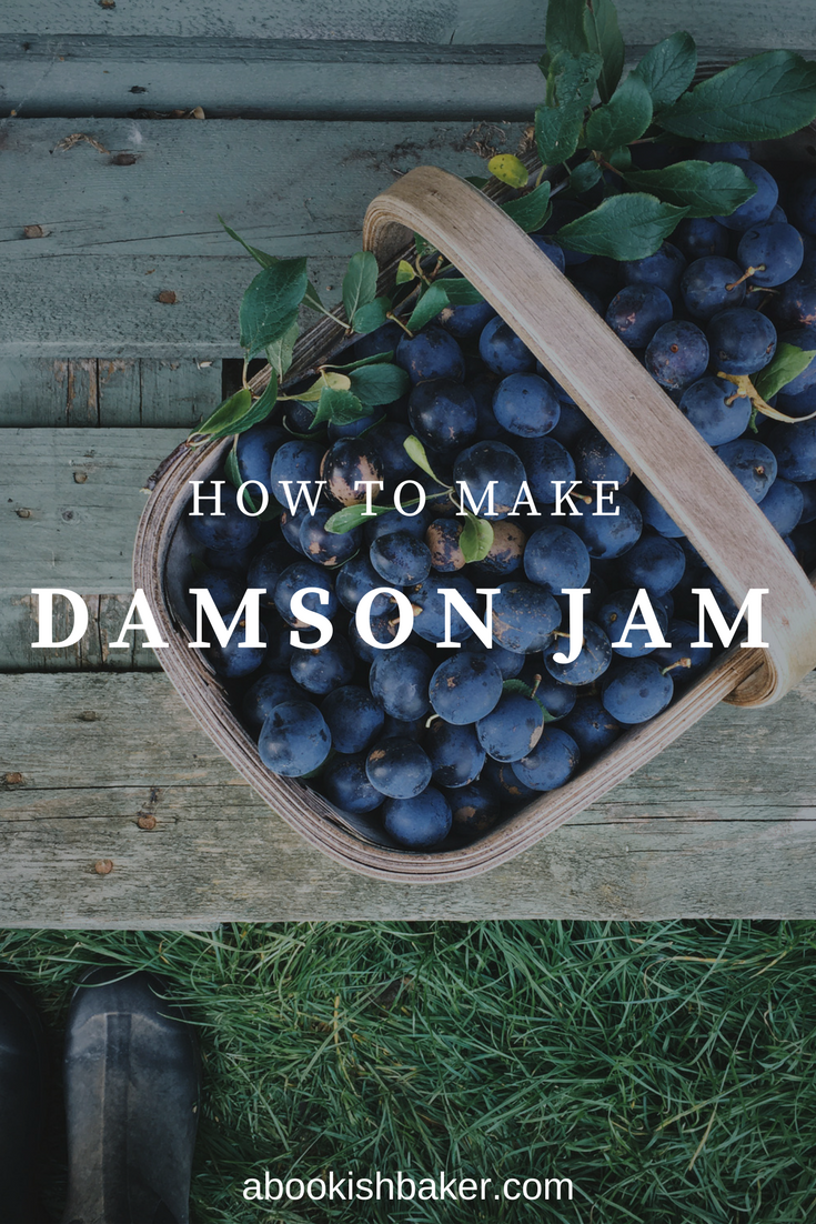 how to make damson jam. Homemade, preserves, autumn, fruit, harvest, jelly, plum.