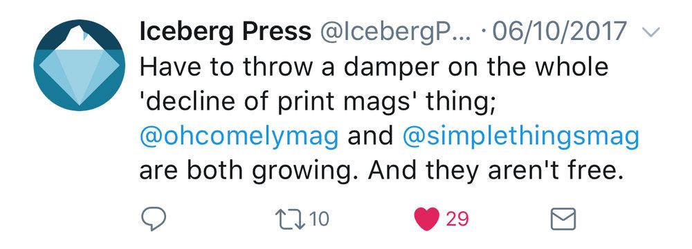 iceberg press