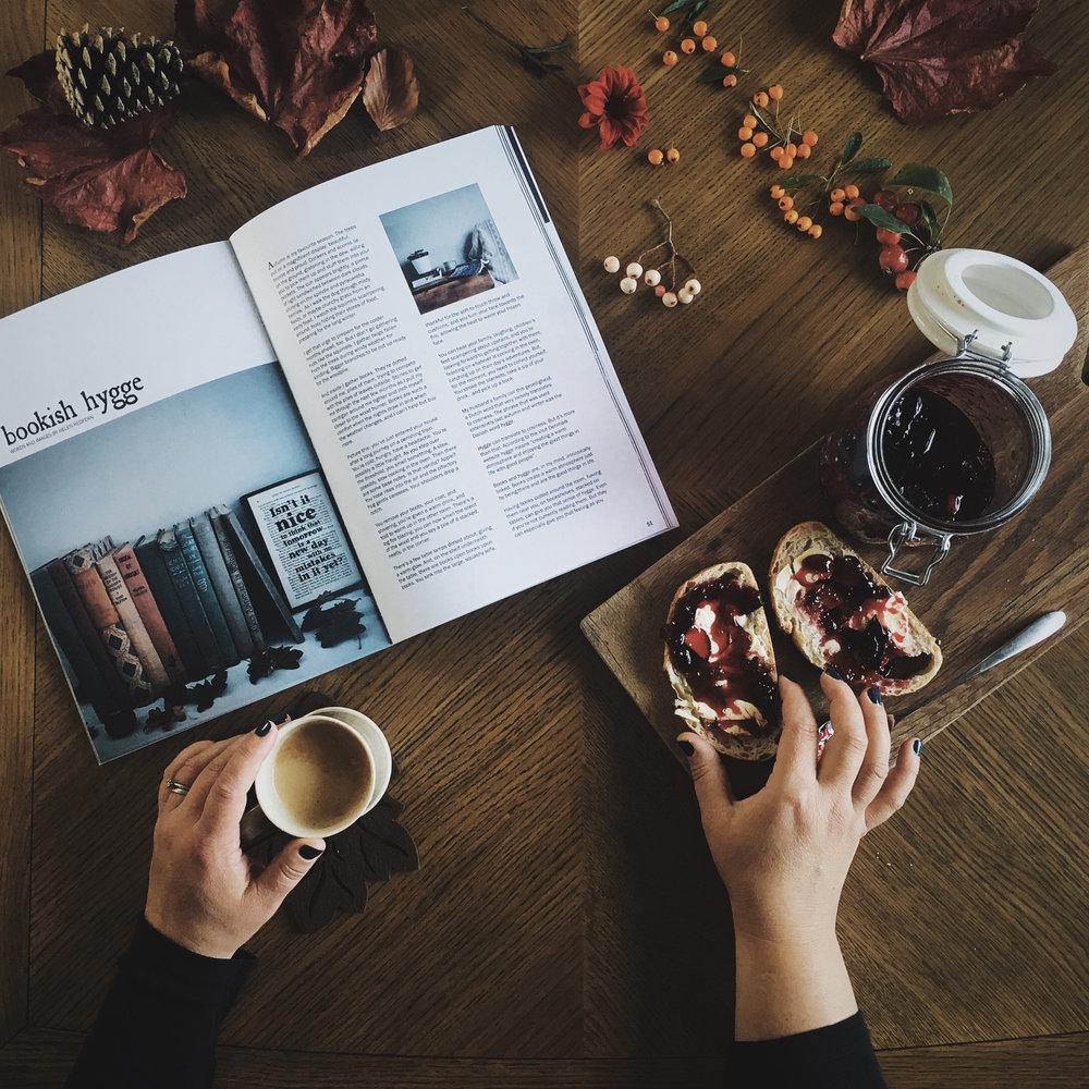 three gorgeous magazines