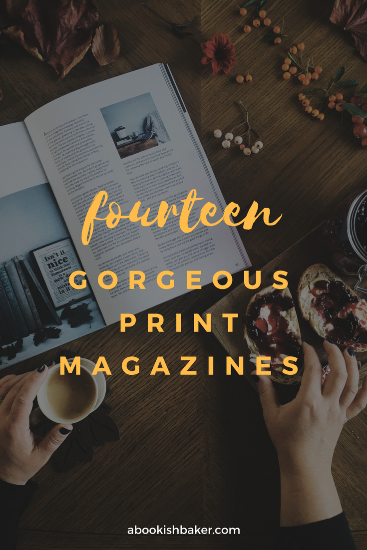 fourteen gorgeous niche print magazines