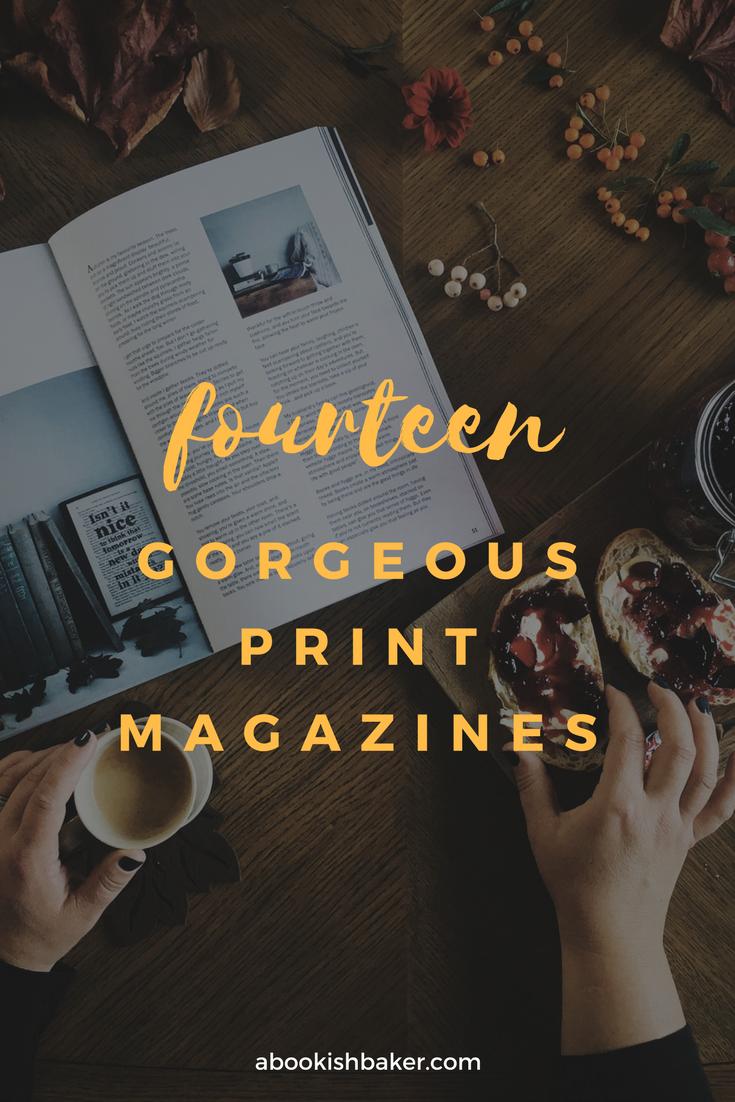 fourteen gorgeous niche print magazines