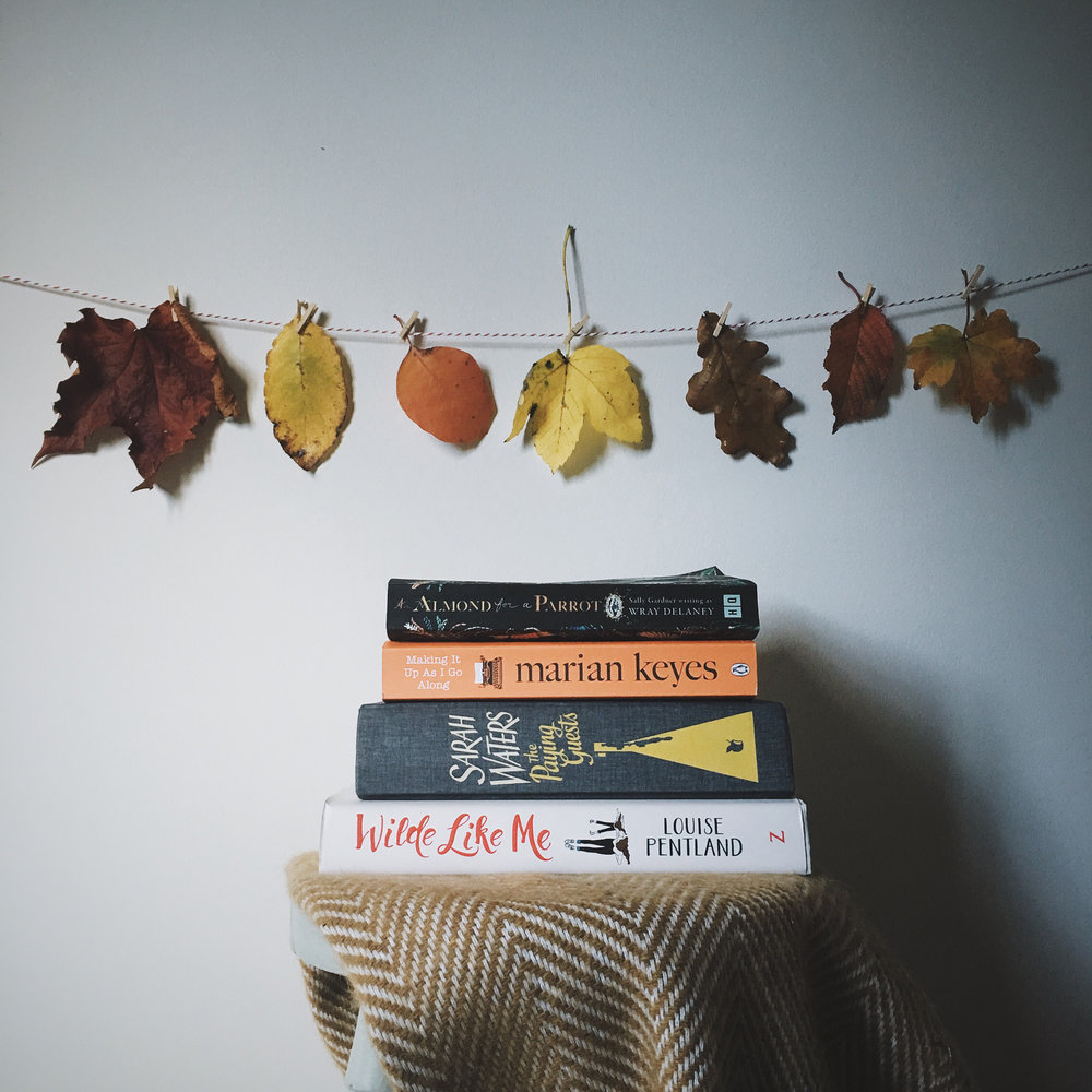 what I read in October by A Bookish Baker