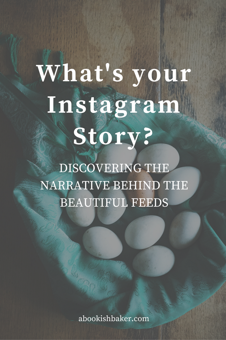 what's your instagram story? A Bookish Baker / Helen Redfern