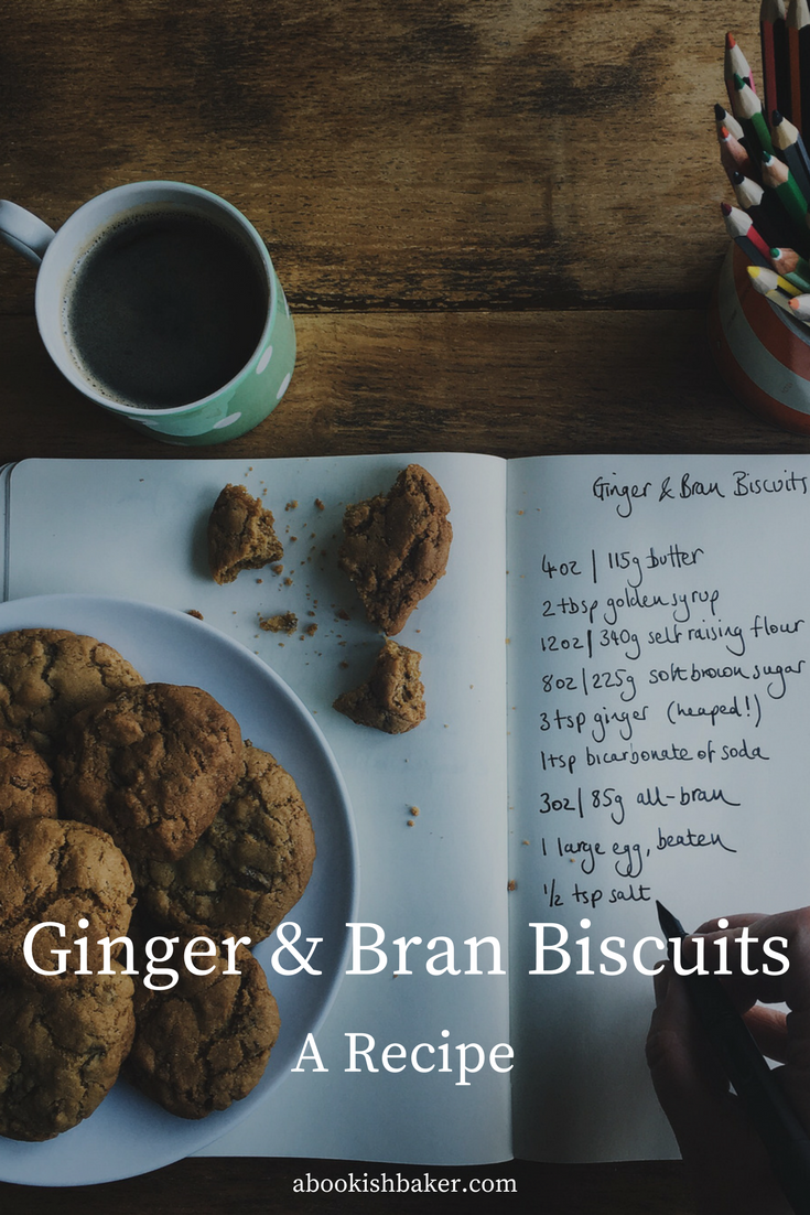 ginger & bran biscuits. Family favourites. Cookies. Bake sales.