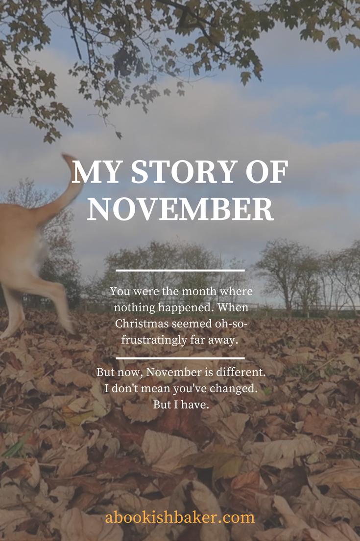 my story of november
