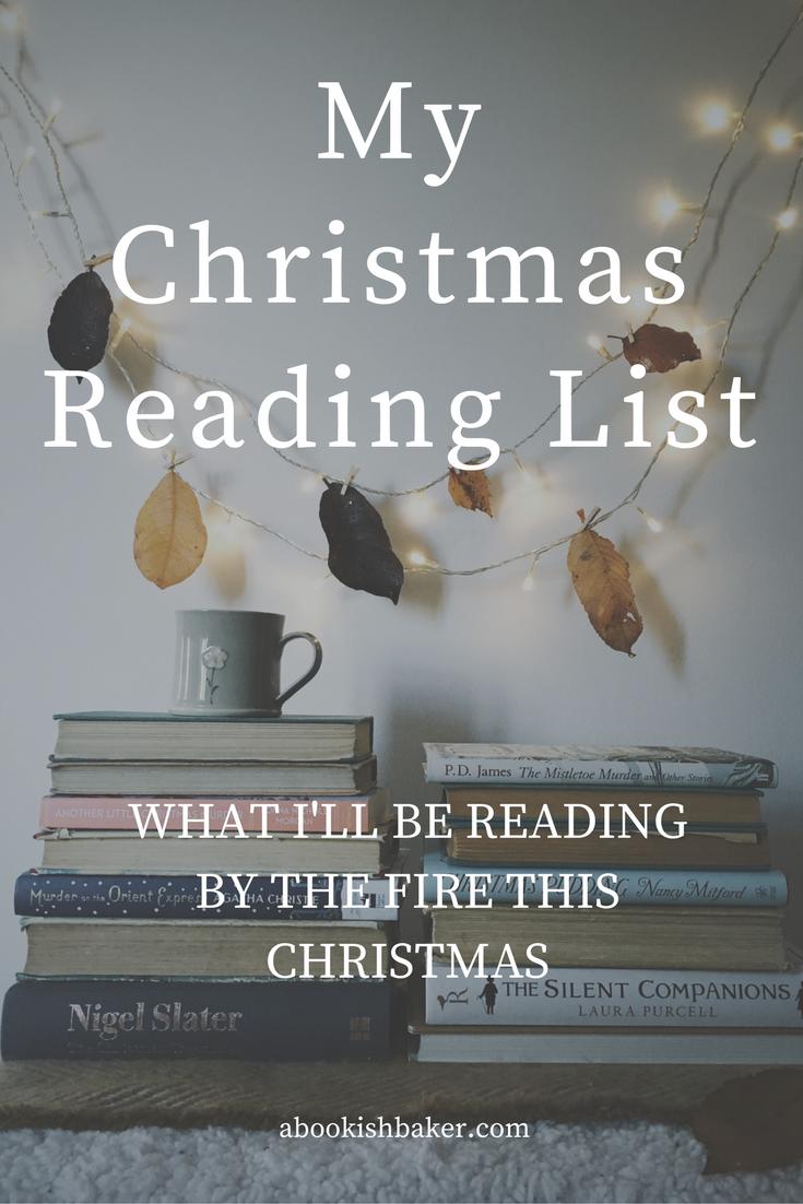 My christmas reading list