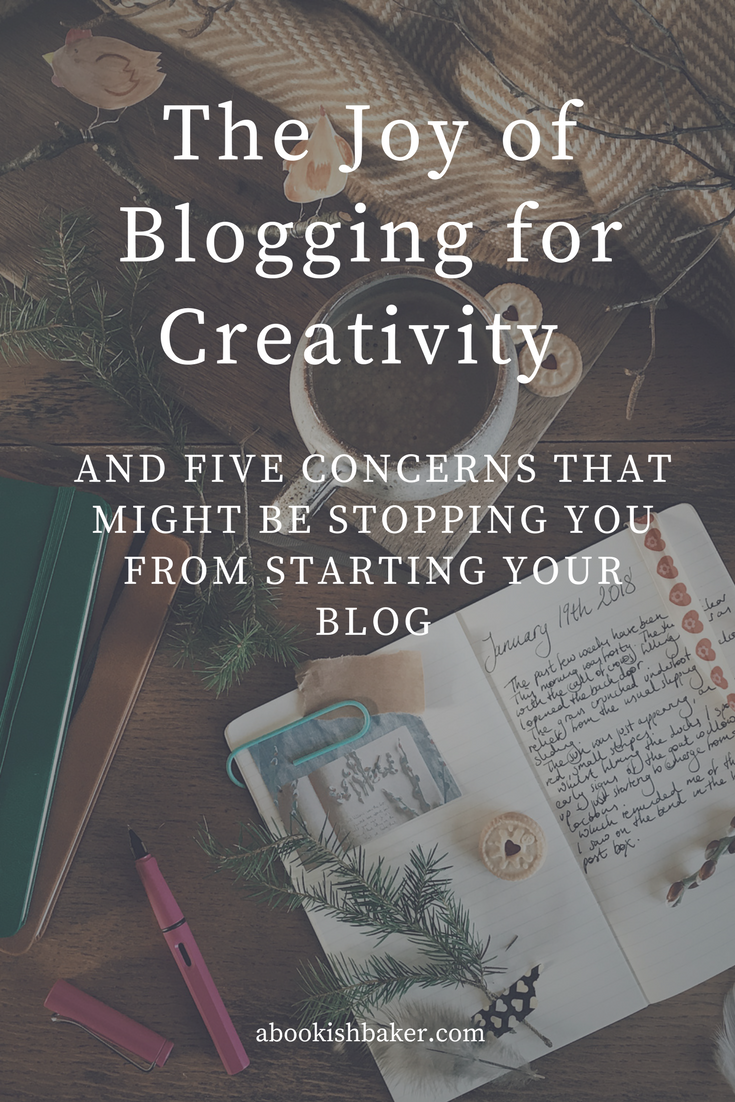 Blogging for creativity