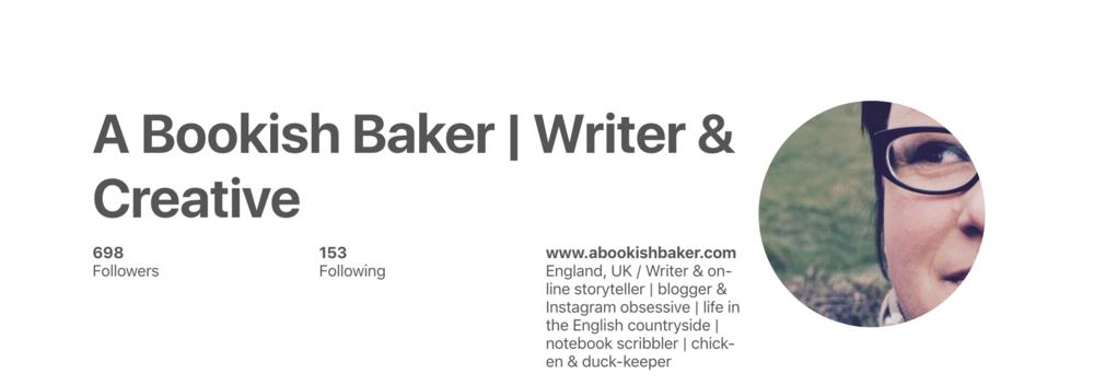 Pinterest a bookish baker