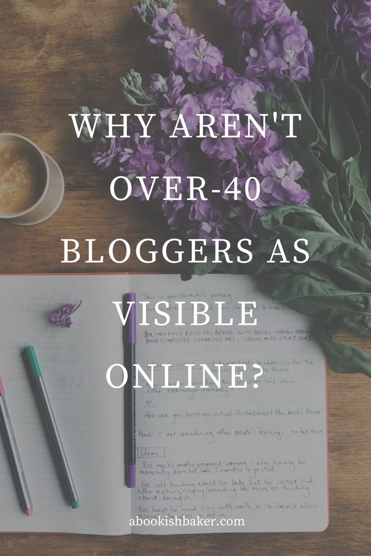 Why aren't over-40 bloggers as visible online?
