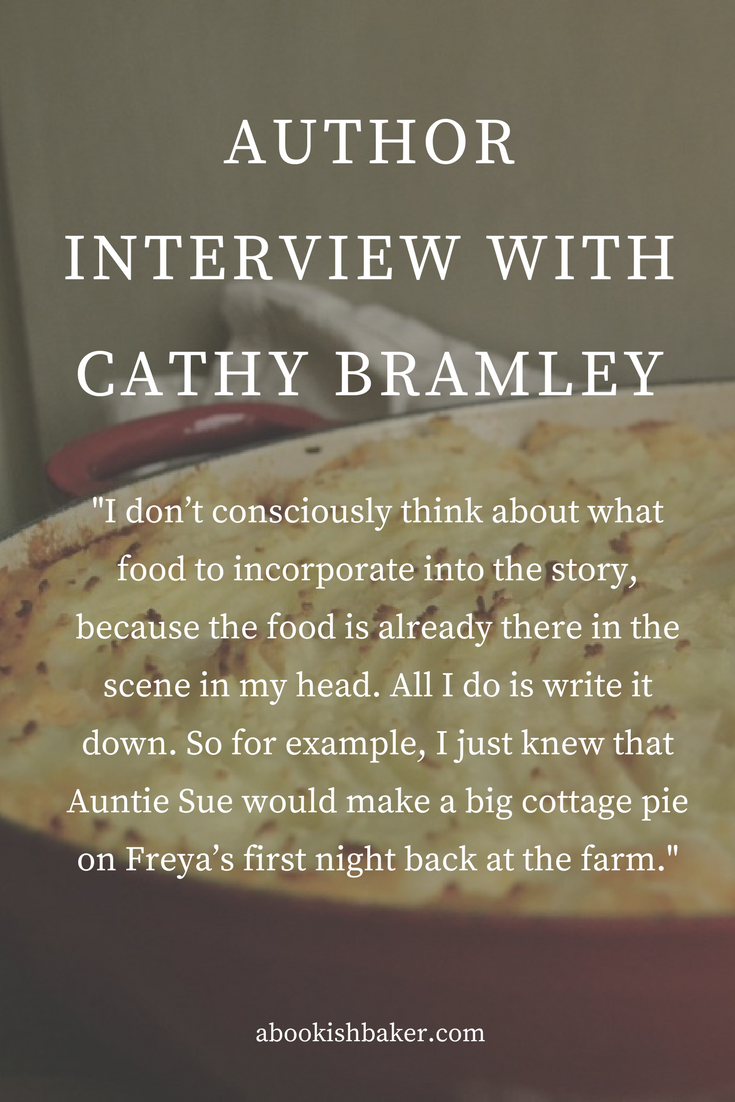 author interview with Cathy Bramley