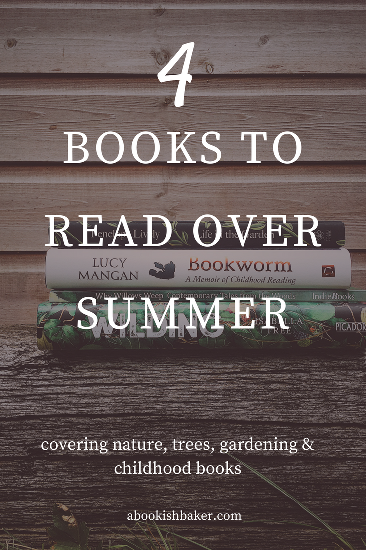 Four books to read over summer