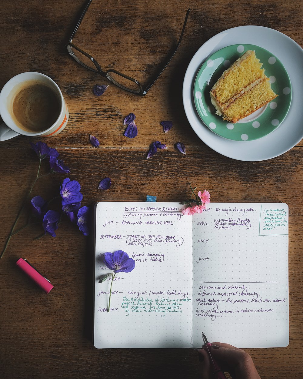 how I'm dealing with overwhelm
