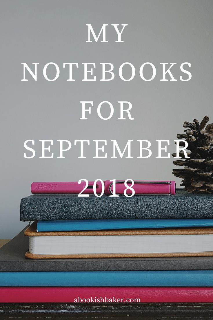 notebook haul for september 2018