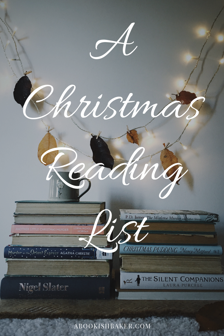 A Christmas Reading List. A selection of cosy books to read by the fire this Christmas and winter time.