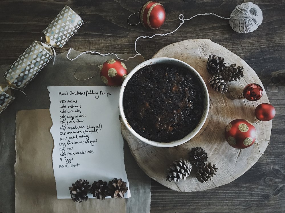 how to make a christmas pudding