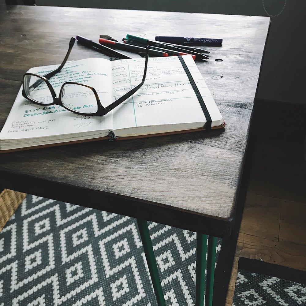 desk from Etsy