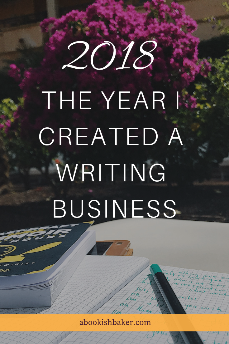 the year I created a writing business. How I'm turning my online creativity and writing into a household income.