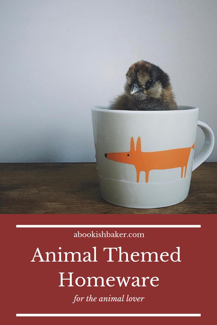 animal themed homeware for the animal lover
