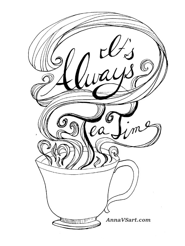 free alice in wonderland printable tea time quote anna vs art