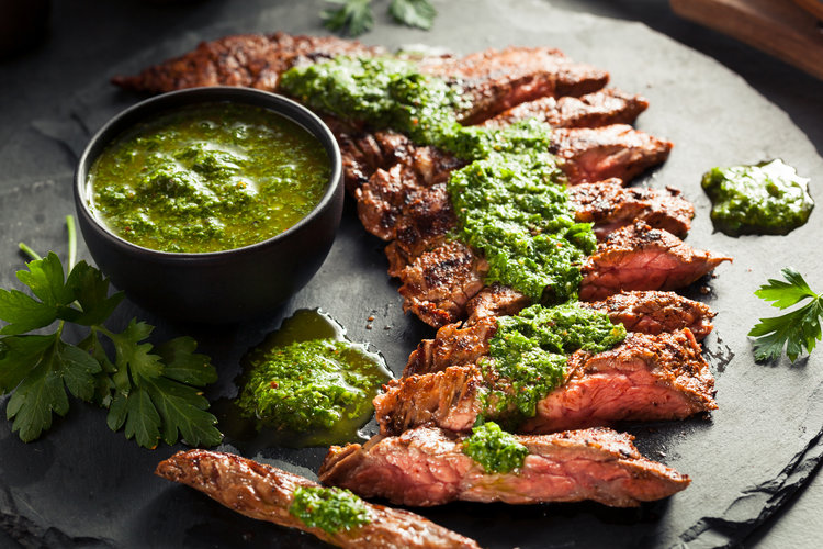 Skirt Steak + Chimichurri