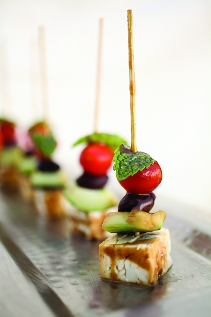 Feta Salad Skewers
