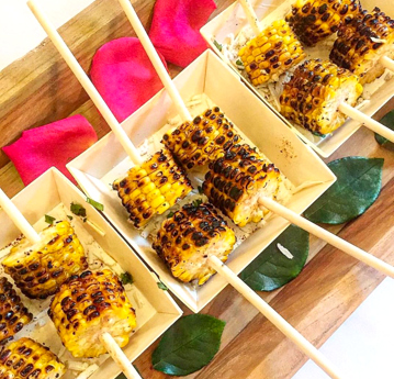 Mini Grilled Elote