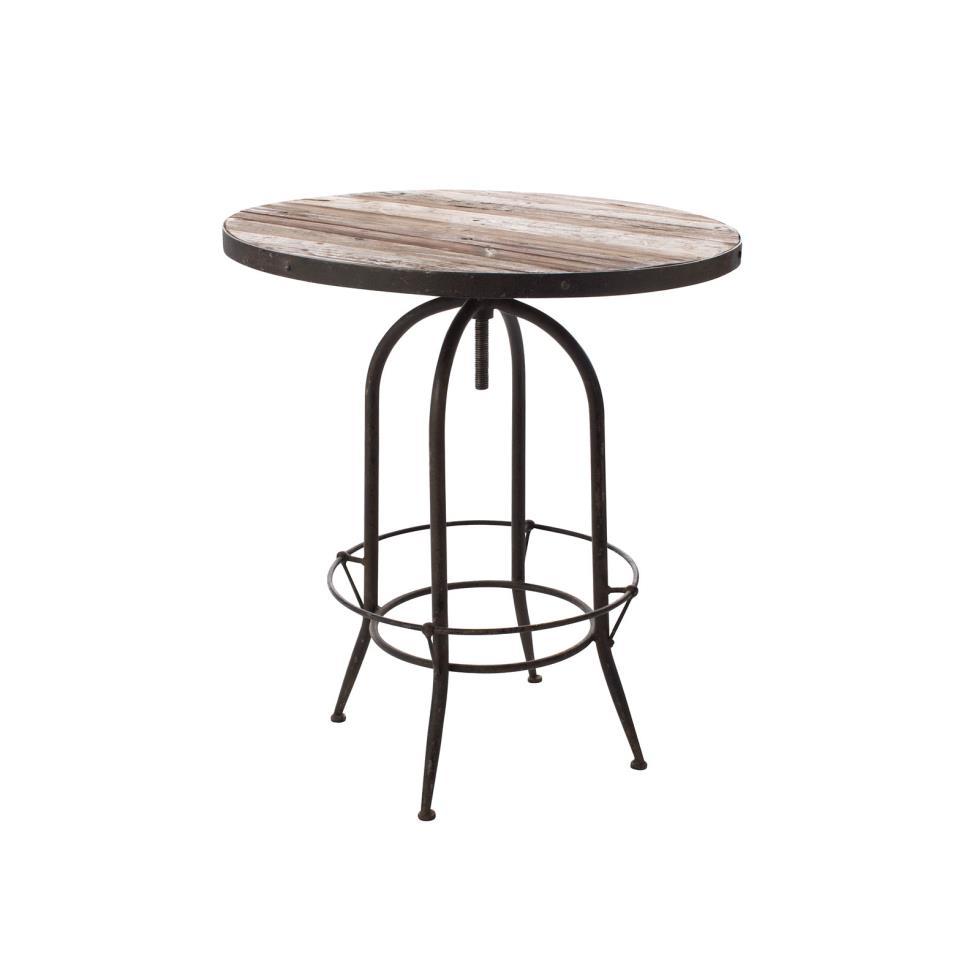 Wood Style Cocktail Bar Table .jpg