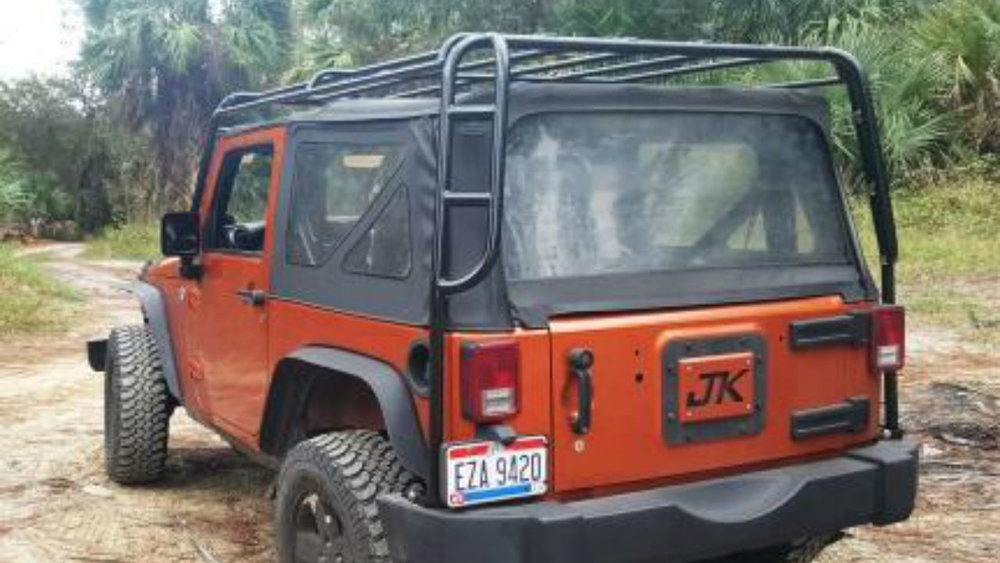 roof jeep jk ridge rack rugged wrangler door racks sherpa