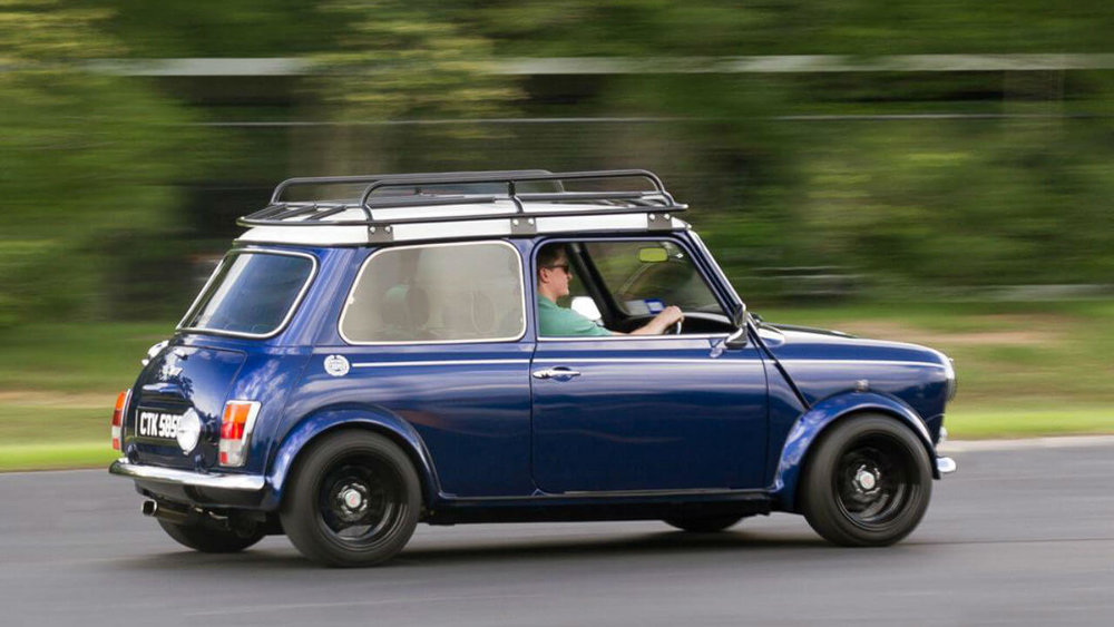 Classic Mini Cooper Roof Rack Driving Voyager Offroad