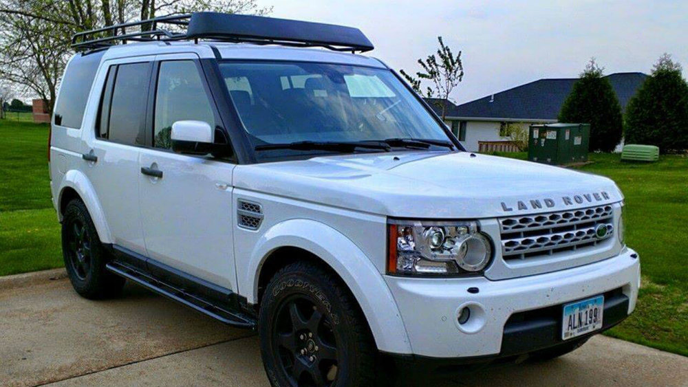 Marvelous Land Rover LR4 Off Road Standard Voyager Roof