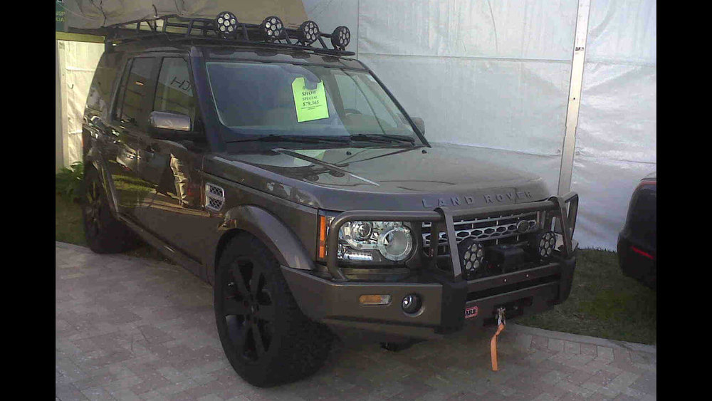 Land Rover LR4 Off Road Challenge Roof Rack