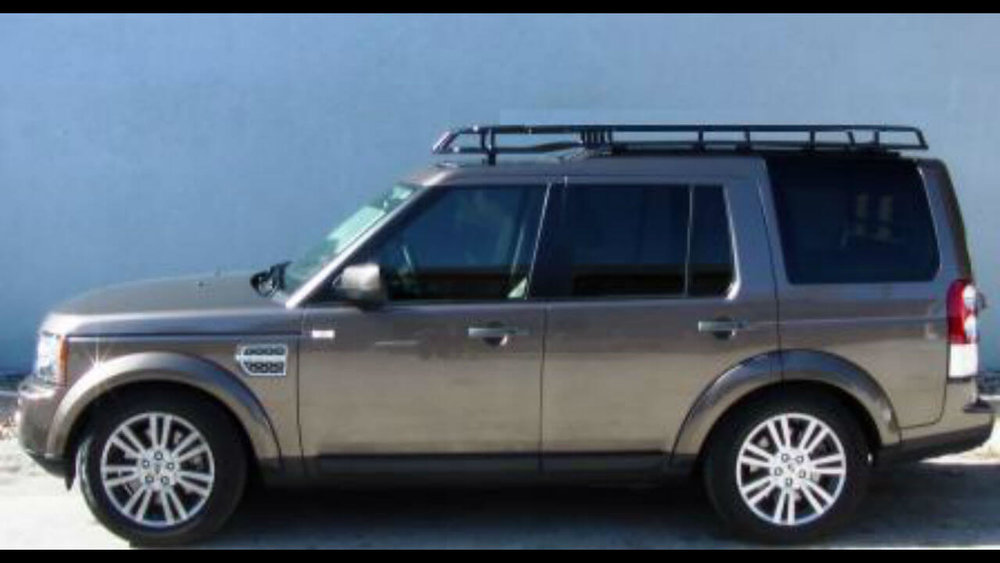 Attractive Land Rover LR4 Low Profile Voyager Roof Rack