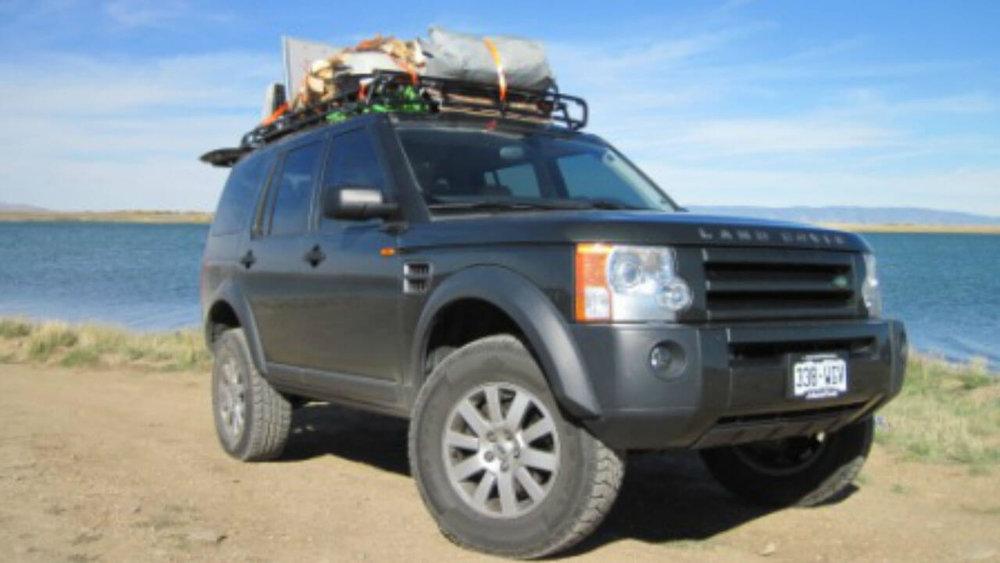 land rover lr4 offroad challenge edition roof rack. Black Bedroom Furniture Sets. Home Design Ideas