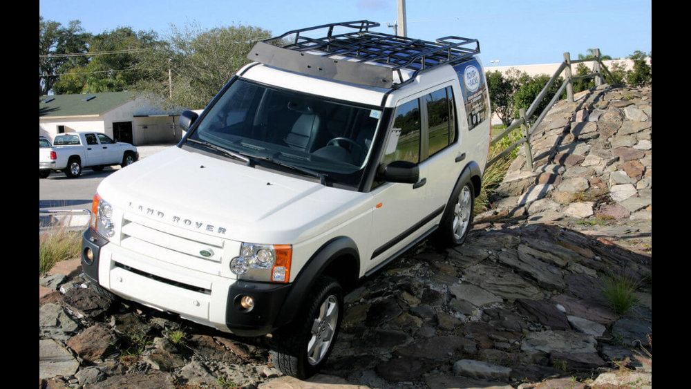 Land Rover LR4 Voyager Contactor Roof Rack Off