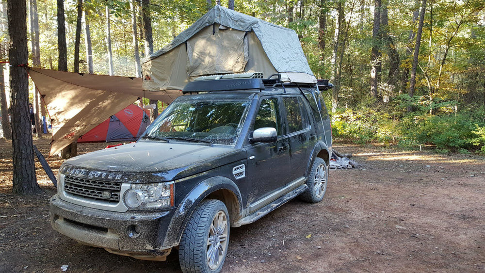 Land-Rover-LR4-c&ers-tent-edition-roof-rack- & Land Rover LR4 Campers Edition Roof Rack u2014 Voyager Racks memphite.com
