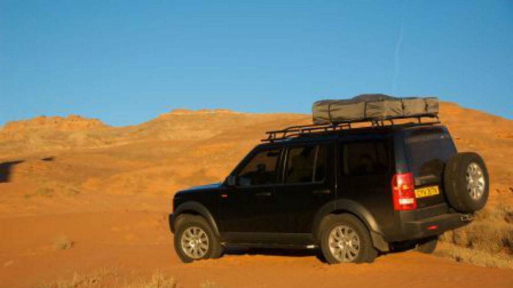 Land Rover LR4 Folded Campers Tent Edition Roof