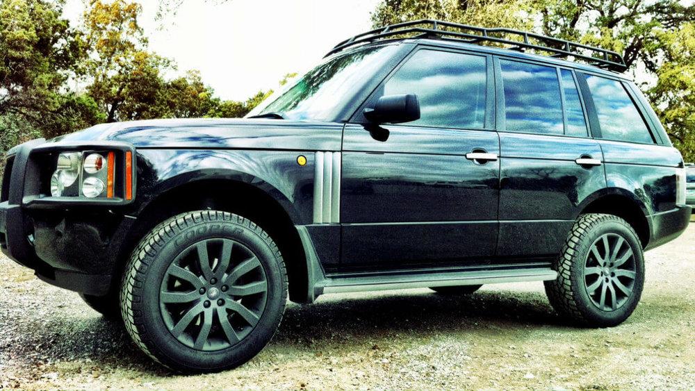 Land Rover Range Rover Mk3 L322 Standard Voyager Roof Rack