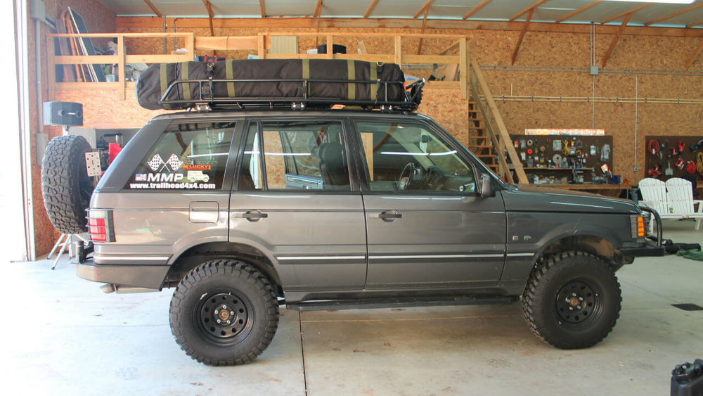Range Rover Offroad >> Land Rover Range Rover P38 Offroad Challenge Edition Roof Rack — Voyager Racks