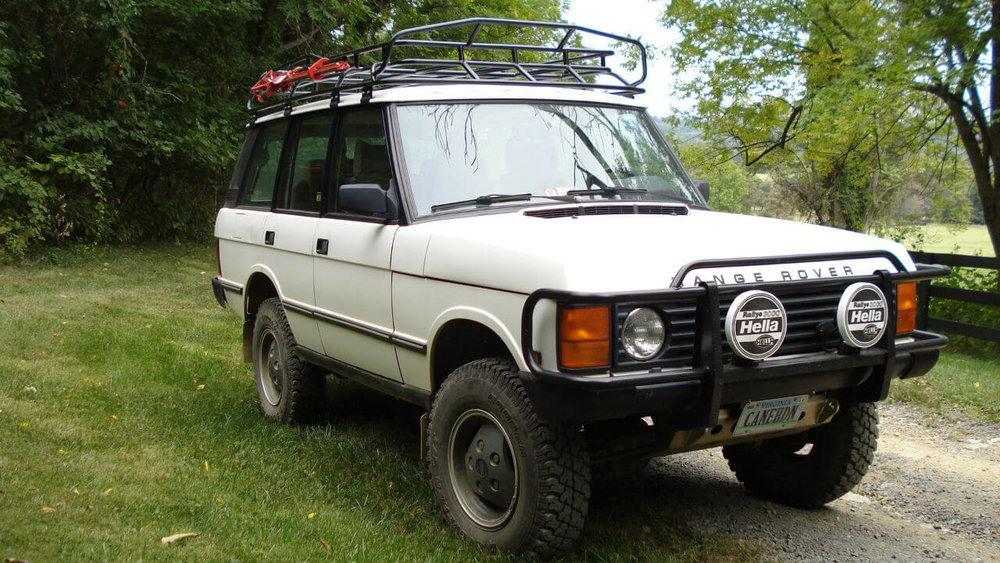 Land Rover Range Rover Classic Accessories