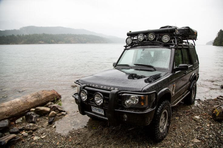 land rover discovery series 2 accessories — voyager racks