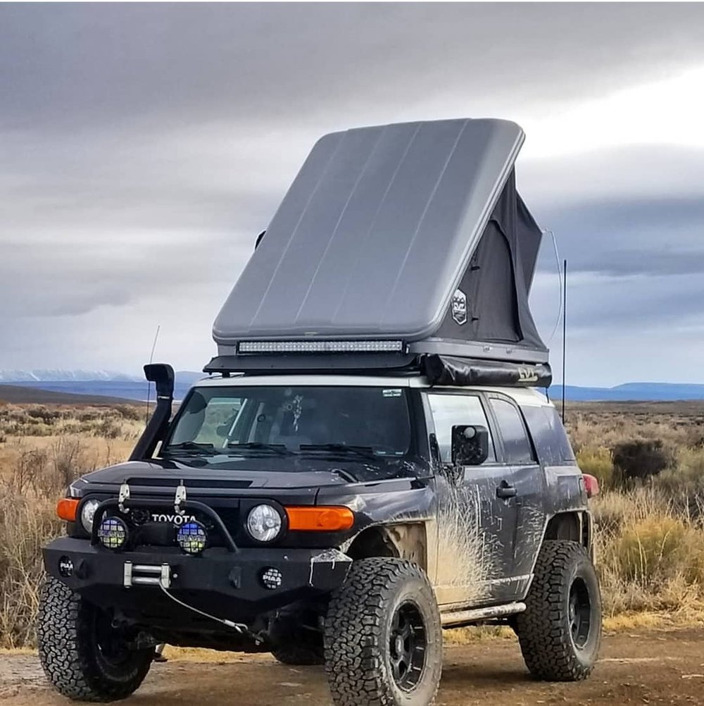 Customize your rack by  adding flooring , a wind fairing, or custom color!