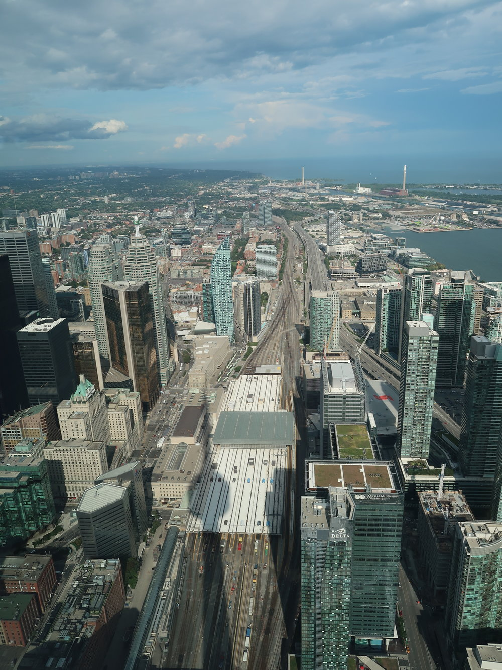 Views from the CN Tower