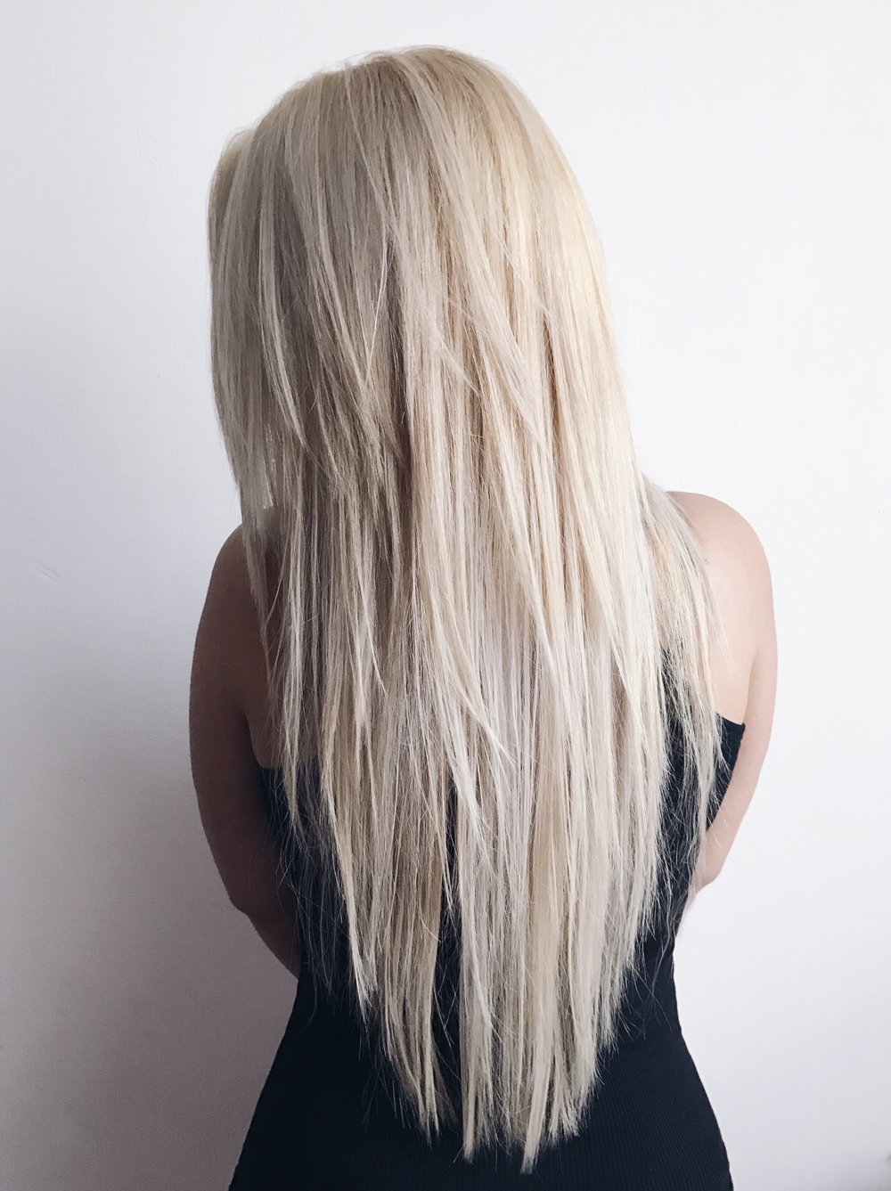 hairbyasm beautiful platinum highlights pin olaplex blonde golden mix and
