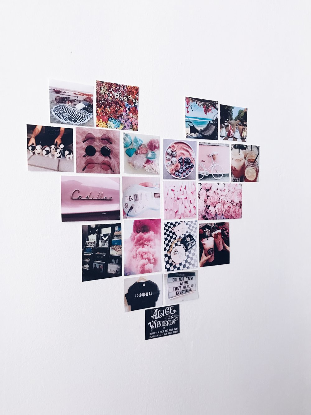 Printed Pictures: Tumblr & Pinterest, all rights to their respective owners  Brands I see included are Starbucks, Cadillac, Valfre