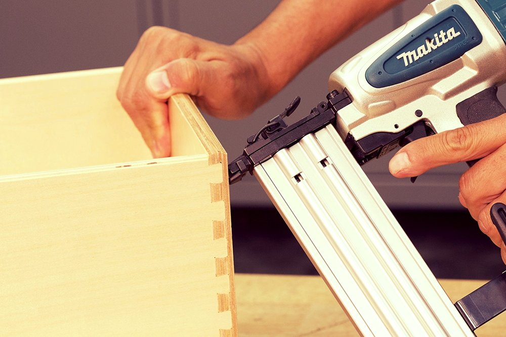 Brad Nailer - Used for smaller applications where a lot of holding power is not necessary.
