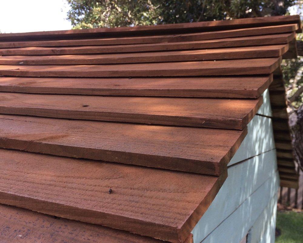 kids treehouse roof