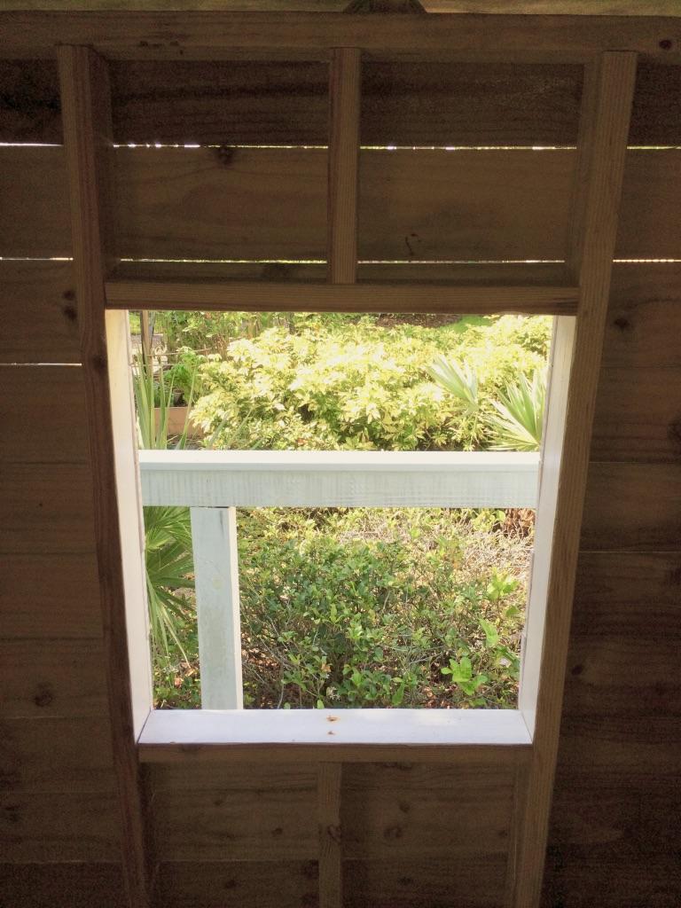 kids treehouse framing