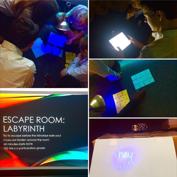 Latin Escape Classroom Spring 2017 Attempt Amy Skillicorn