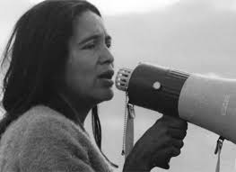 Dolores Huerta, one of the GREATS ™.    She is a labor and civil rights leader who has fought for workers', immigrants, and women's rights, resulting in higher wages for all workers.